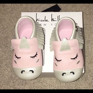 Nicole Miller Unicorn Baby girl Booties